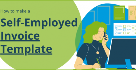 Advice on how to create an invoice template if you're self-employed